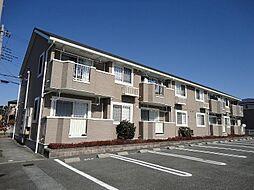 山梨県笛吹市石和町小石和の賃貸アパートの外観