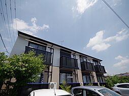 栃木県宇都宮市峰4丁目の賃貸アパートの外観