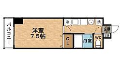 梅田エクセルハイツ[10階]の間取り