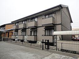 三重県四日市市中川原3丁目の賃貸アパートの外観