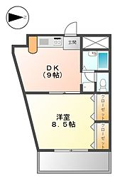 アベニュー22[6階]の間取り