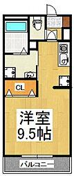 メゾン・ド・オルム[1階]の間取り