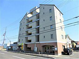 滋賀県近江八幡市土田町の賃貸マンションの外観