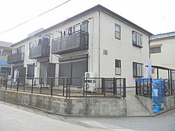 東京都江戸川区南葛西2丁目の賃貸アパートの外観