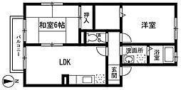 ヒルズマップ小笹[2階]の間取り