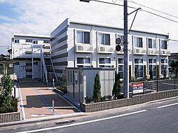 埼玉県戸田市美女木1丁目の賃貸アパートの外観