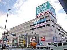 ニトリ環七梅島店:徒歩6分(454m)