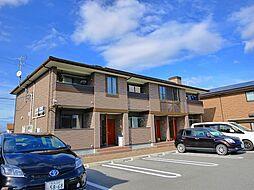 奈良県桜井市大字上之宮の賃貸アパートの外観