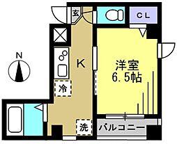 第59シンエイビル[2階]の間取り