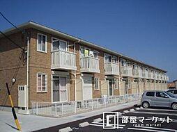愛知県豊田市中根町永池の賃貸アパートの外観