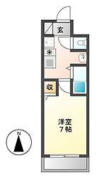 サンモール5[4階]の間取り