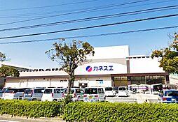 カネスエ砂美店 550m