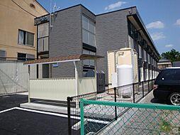 長野県松本市女鳥羽1丁目の賃貸アパートの外観