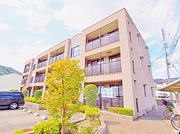 広島県広島市安芸区畑賀2の賃貸マンションの外観