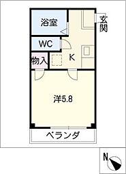 プリミエールKATO[2階]の間取り