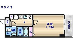 FDS KOHAMA WEST[5階]の間取り