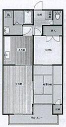 リファイン柴田[1階]の間取り