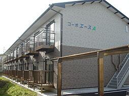 岐阜県美濃加茂市西町6丁目の賃貸アパートの外観