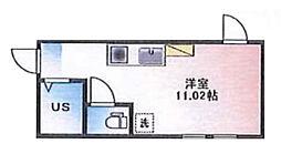 (仮称)ルームズ西早稲田B棟[105号室]の間取り