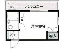 ボーディング5[2階]の間取り