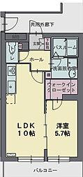 カームスガーデン・ジオ[3階]の間取り