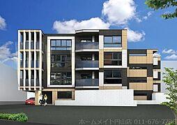 北海道札幌市中央区南八条西25丁目の賃貸マンションの外観