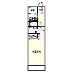 平成企画コーポ[2階]の間取り