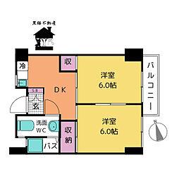 徳川園ウエストマンション[2階]の間取り