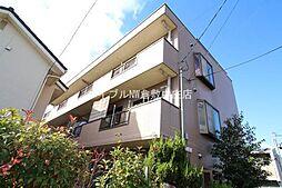 岡山県倉敷市西阿知町新田の賃貸マンションの外観