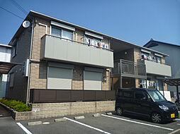 大阪府河内長野市三日市町の賃貸アパートの外観