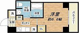 スワンズシティ堺筋本町[7階]の間取り