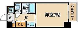 片町コート[4階]の間取り