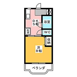 メゾンリサイア[3階]の間取り
