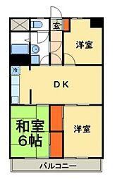 三浦マンション[305号室号室]の間取り