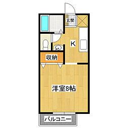 オリエントS[2階]の間取り