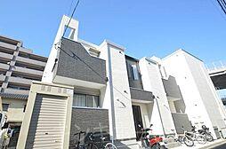 広島県安芸郡海田町南堀川町の賃貸アパートの外観