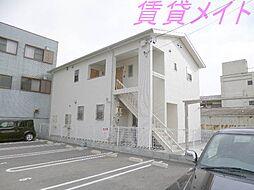 三重県伊勢市一之木3丁目の賃貸アパートの外観