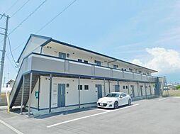 山梨県甲斐市島上条の賃貸アパートの外観