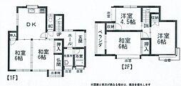 [一戸建] 広島県廿日市市永原 の賃貸【/】の間取り