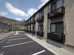 広島県尾道市福地町の賃貸アパートの外観