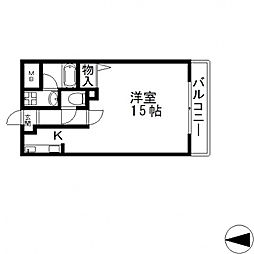 ブランチ613[101号室号室]の間取り