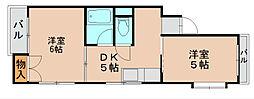 セントラルハイム[3階]の間取り