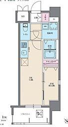 イクシオン美野島[508号室]の間取り