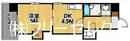 レジディア博多[5階]の間取り