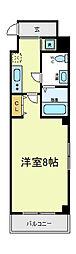 Co.labo天王寺[3階]の間取り