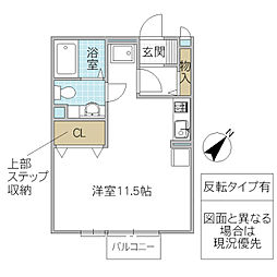シャルマン III E棟[202号室号室]の間取り