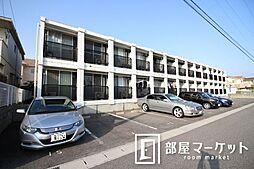 愛知県豊田市浄水町原山の賃貸アパートの外観