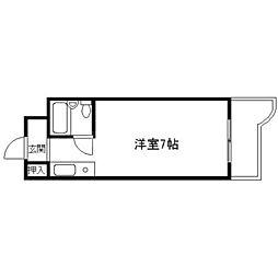 コート東三国[8階]の間取り