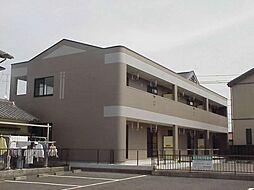 愛知県江南市赤童子町福住の賃貸アパートの外観
