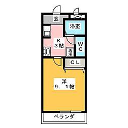グラン・シャリオ[2階]の間取り